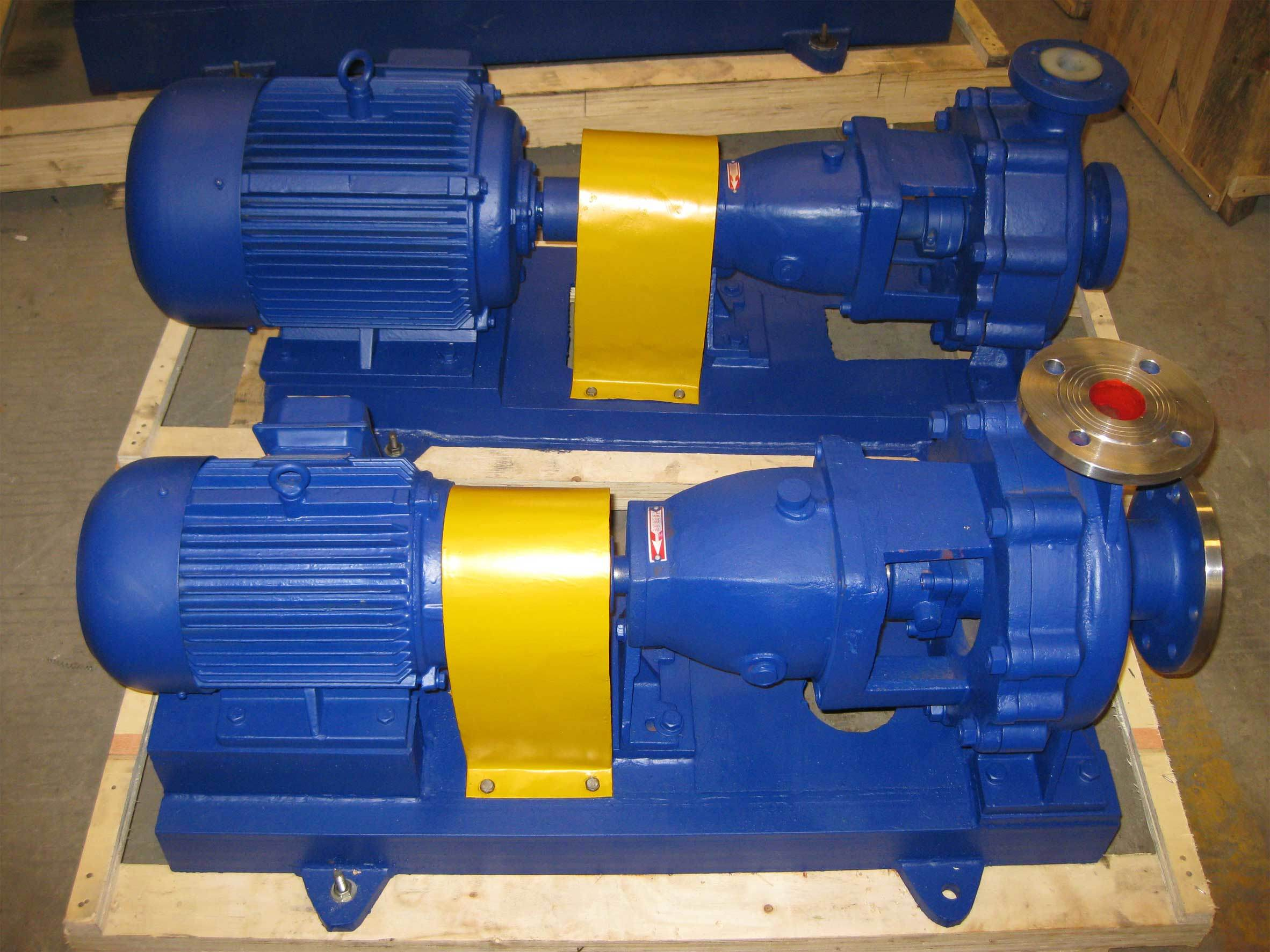 Horizontal Stainless Steel Anti-Corrosion Chemical Pump (IH)