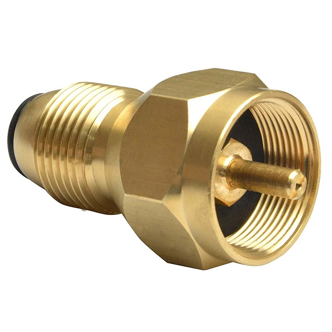 100% Solid Brass Regulator Valve Accessory for All 1 Lb Tank Small Cylinders