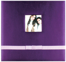 "12""X12"" Silk Fabric Scrapbook Album for Baby"