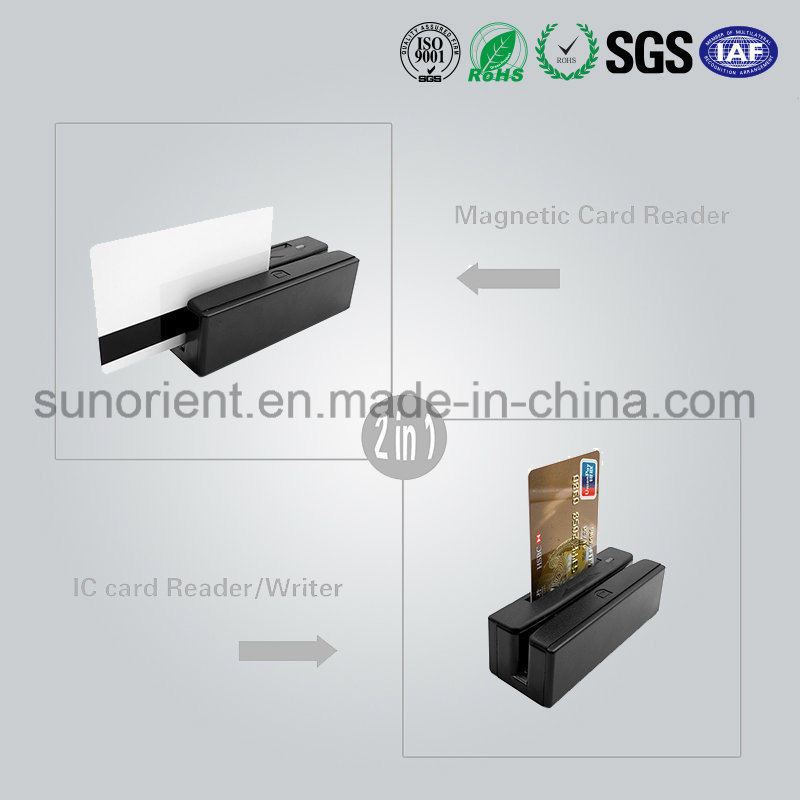 High Quality Msr Magnetic Card Strip Reader with USB
