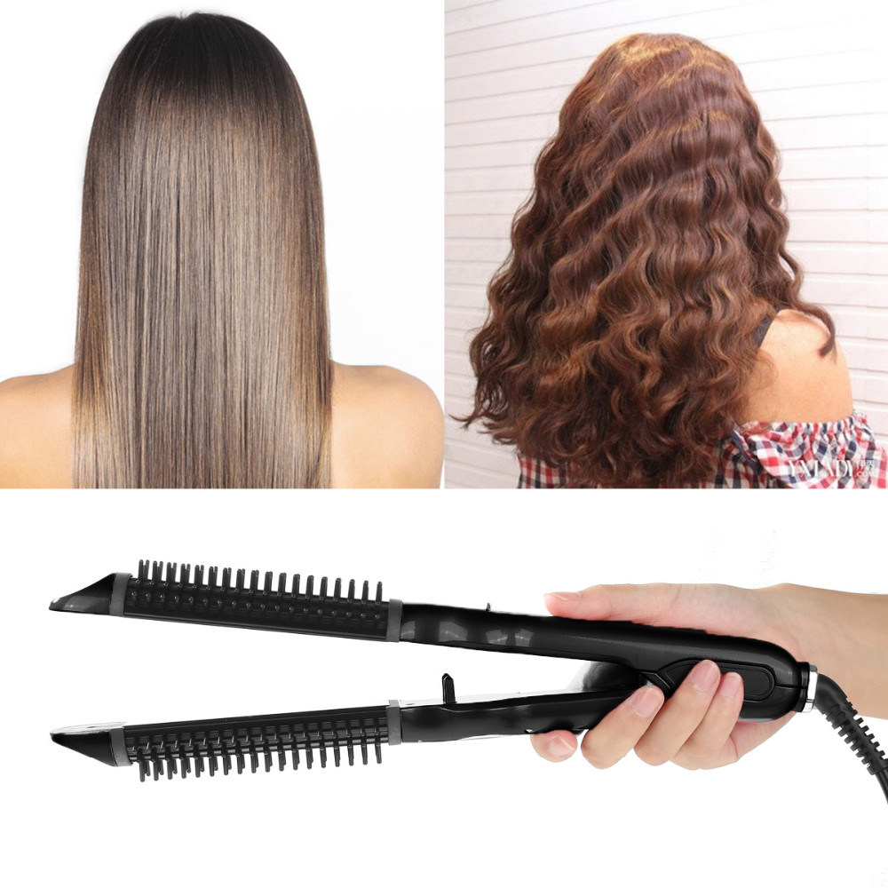 Electric Professional Mch Heater Hair Straightener Curler