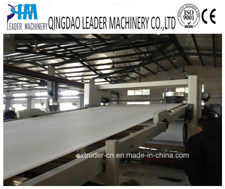 PVC Plastic Sheet/Plate Extruder Machine Extrusion Production Line