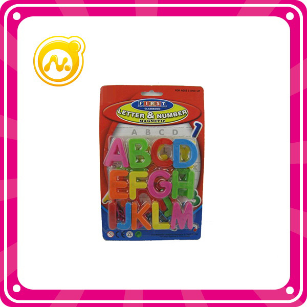 Initiation Magnetic Plastic Letter and Number Children Toys