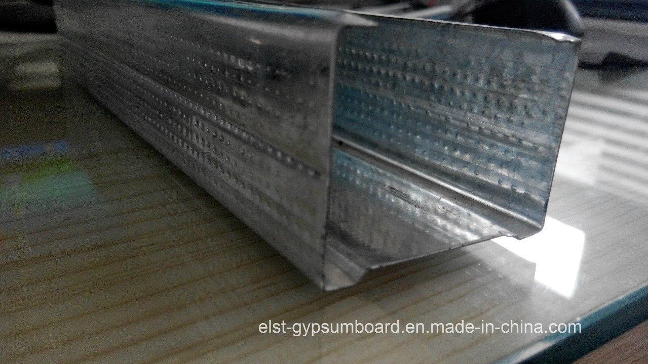 C-Stud/C Chanel/Steel Frame/Steel Profile 75*35*0.6mm