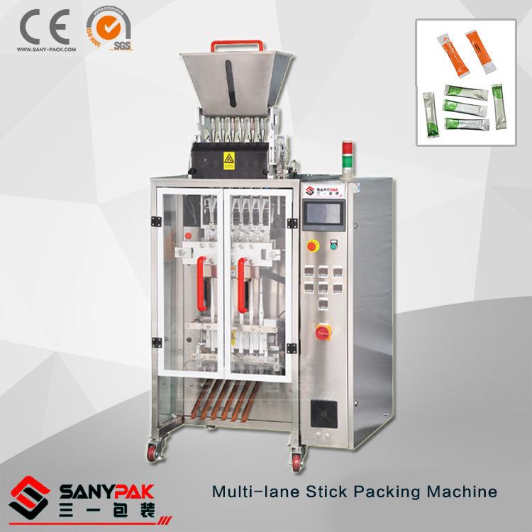 Granuale coffee Sugar Multi-Lane Stick Packing Machine