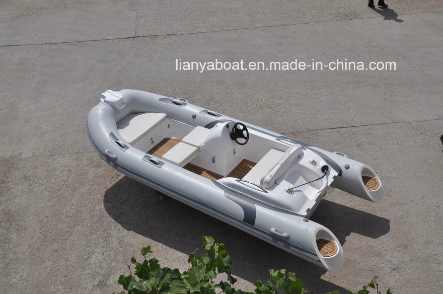 Liya 14ft Semi-Rigid Inflatable Rib Boats Made in China
