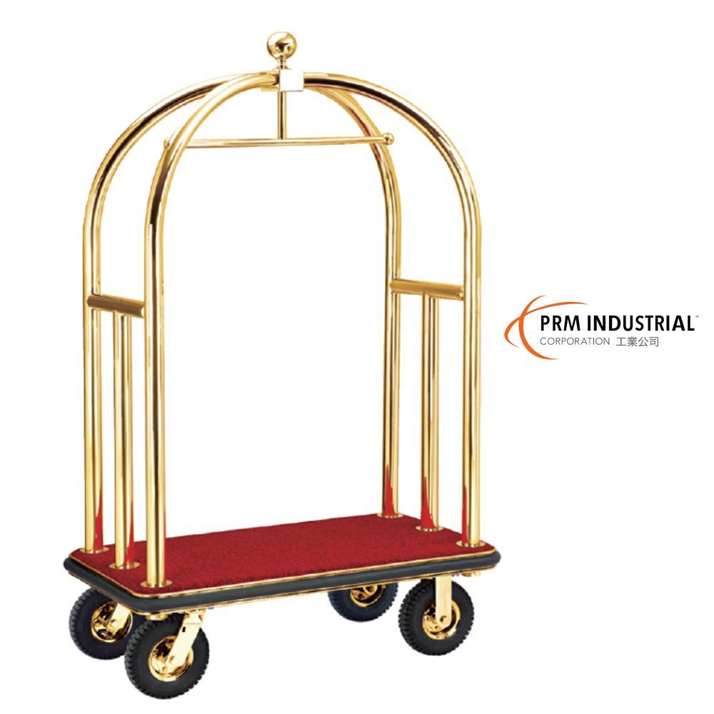 Titanium Plated Luggage Trolley & Hotel Luggage Carts