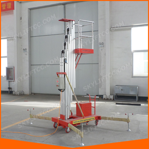 4-10m Aluminum Alloy Mobile Skylift Platform