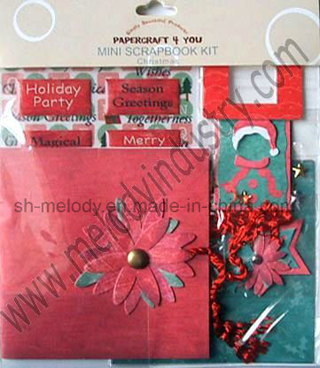 "4""X4"" Unique Mini Scrapbook Kit"
