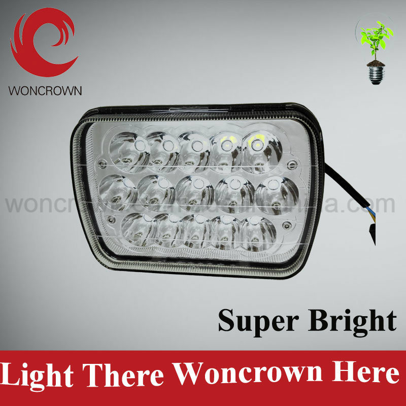 7inch 60W-LED for Jeep Headlight with Hi/Low Beam