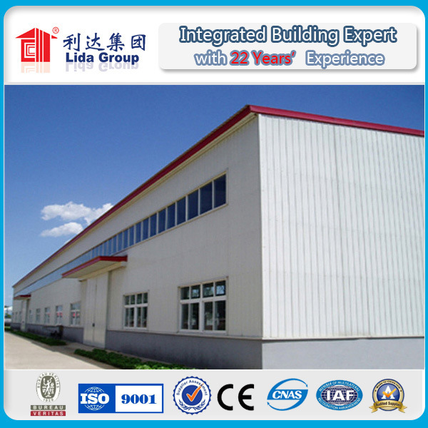 Steel Structure Sandwich Panel Warehouse