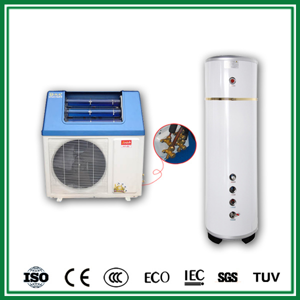 High Cop 5.32 Solar Hot Water Heater Pump System