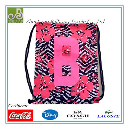 Print Oxford Drawstring/Promotion Bag