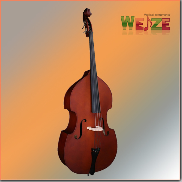 All Solid Handmade Red Brown Double Bass