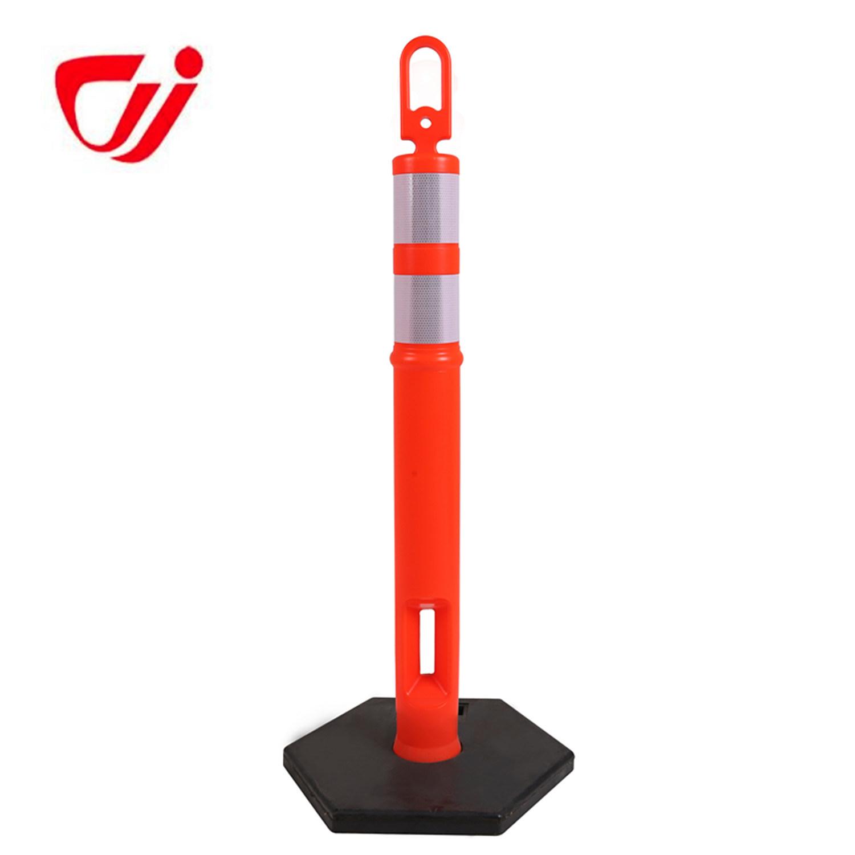 Simple Set-up 115cm High Quality Reflective Plastic Post