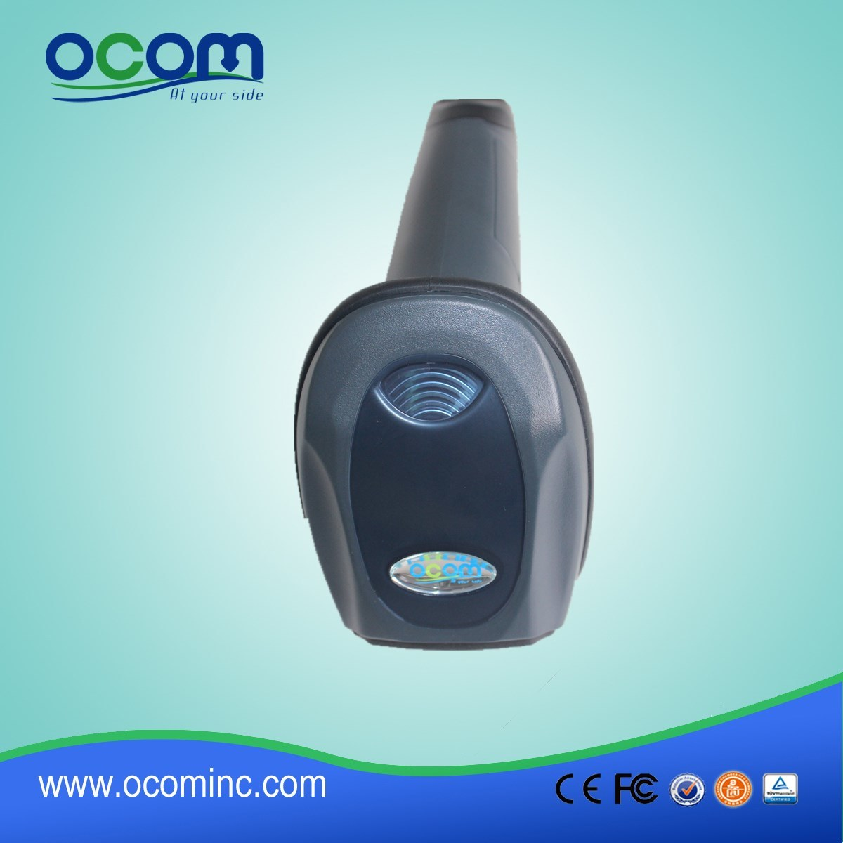 Ocbs-W010 2.4G Hz Wireless Laser Barcode Scanner with Optional Wired Mode