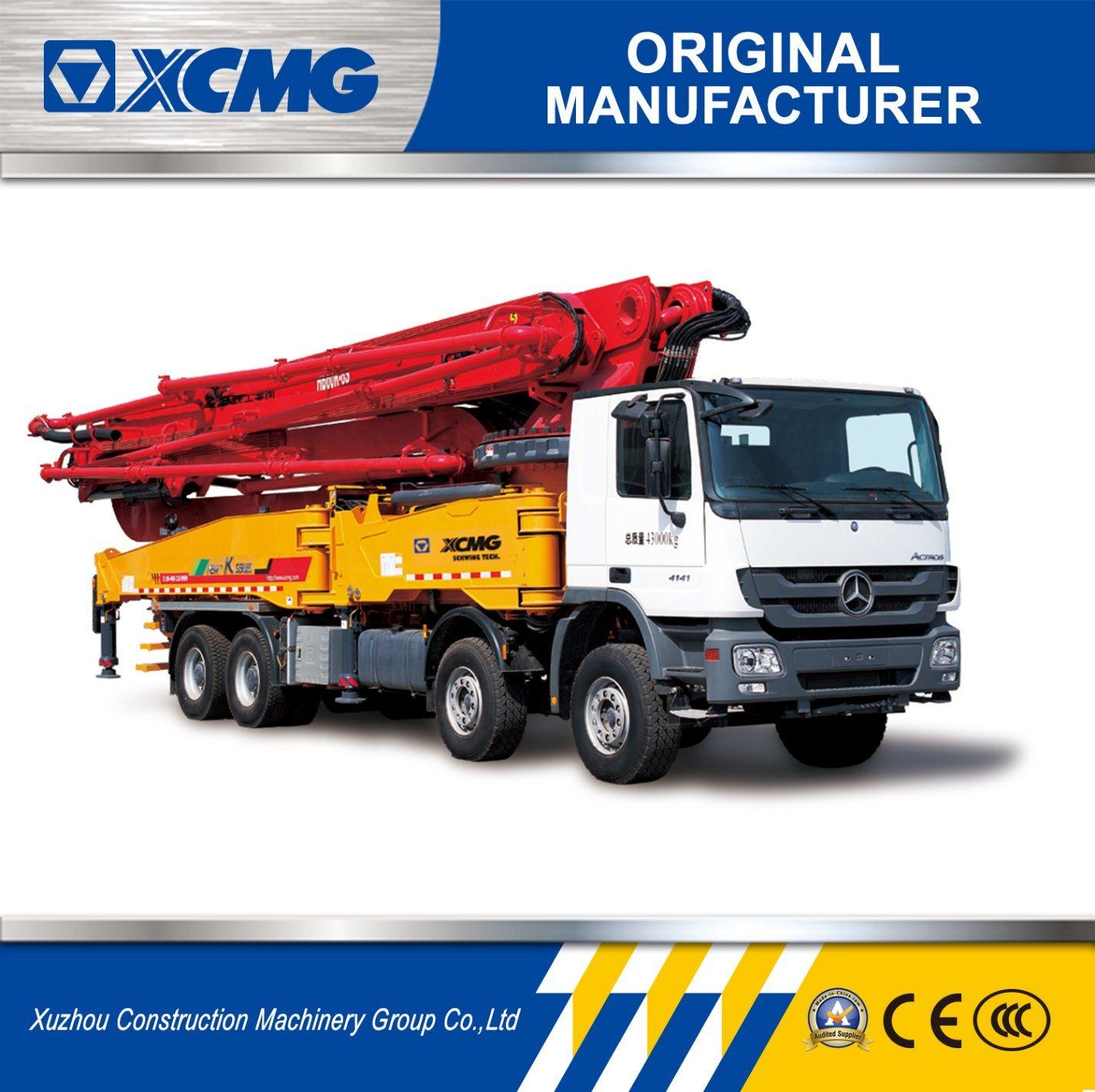 XCMG HB60k 60m Squeeze Concrete Pump Trucks for Sale