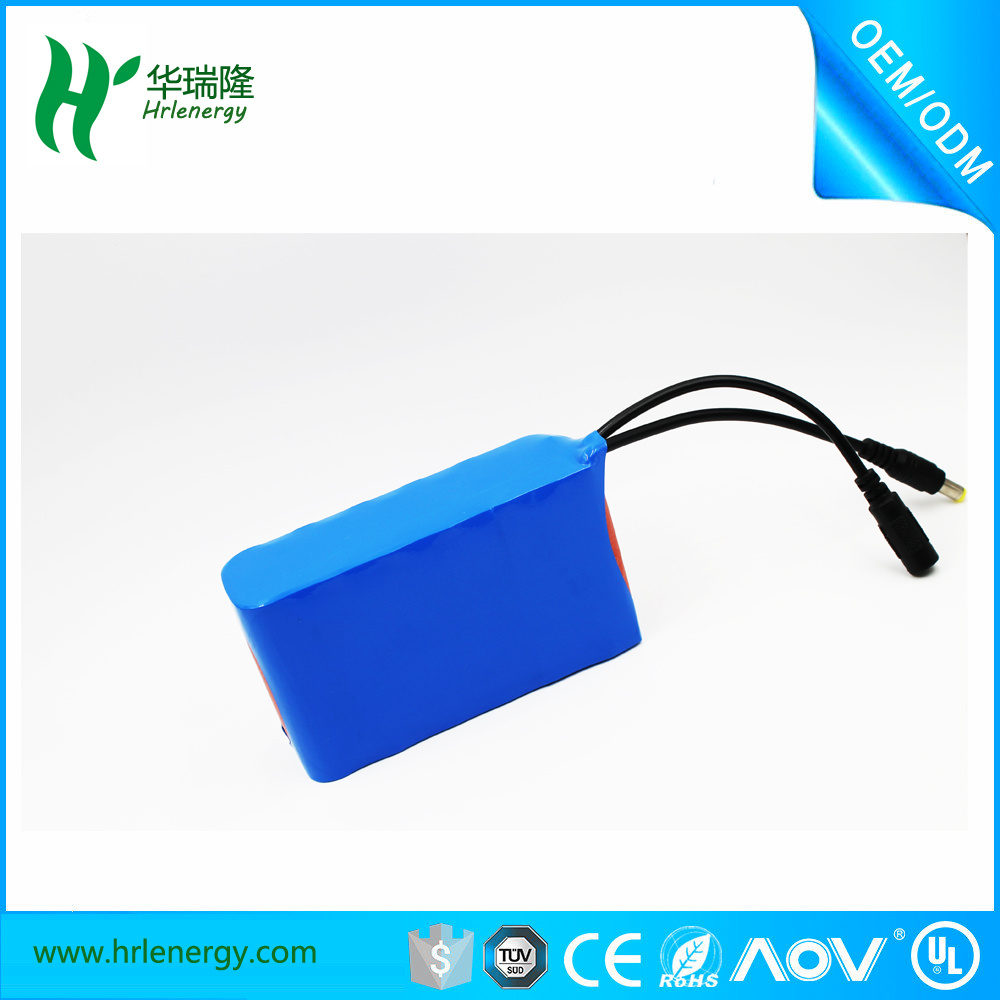 Li-ion Battery 12 Cells 18650 3s4p Battery Pack