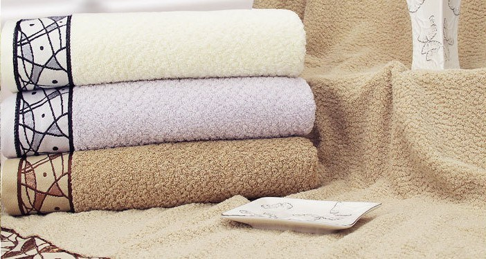 100% Cotton Bath Towel 70*140cm (LDXU-1305)