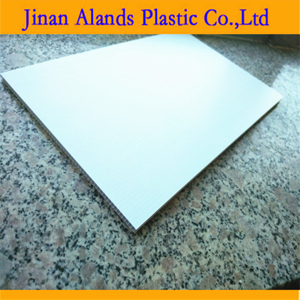 4mm White Coroplast Board PP Hollow Sheet Sheet 1220*2440mm