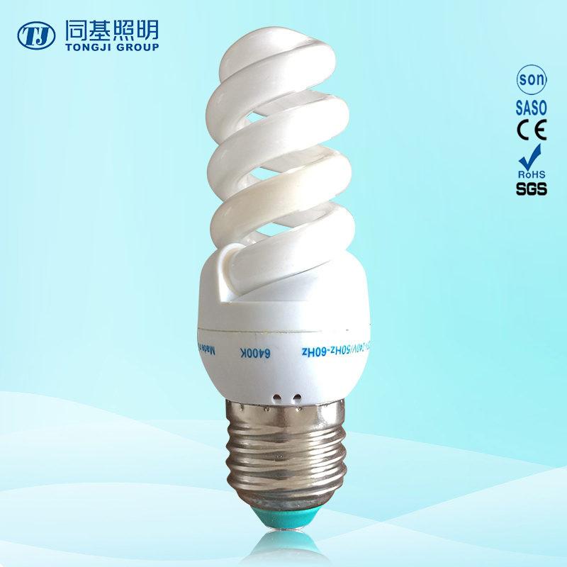 Energy Saving Lamp 11W 13W 15W Full Spiral CFL Compact Bulb