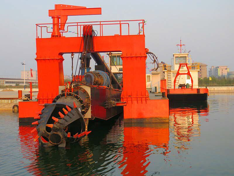 ISO 9001 Kaixiang 20 Inches Cutter Suction Dredger
