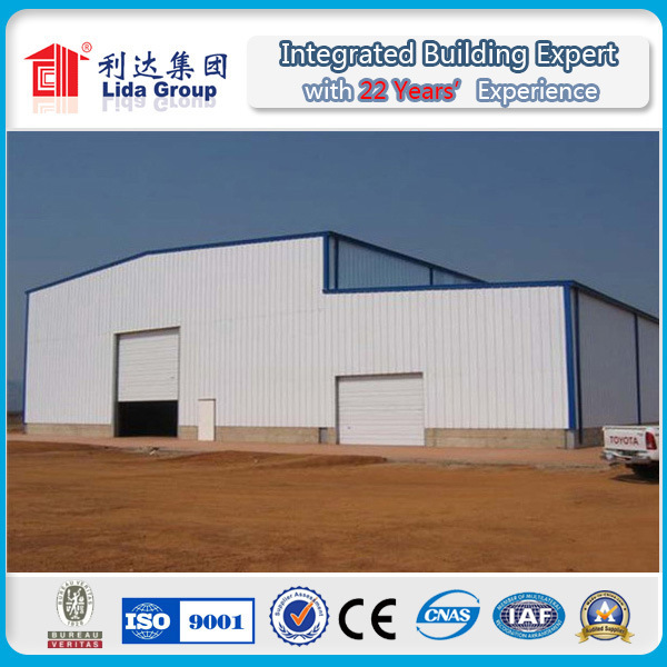 Steel Structure Sandwich Panel Warehouse