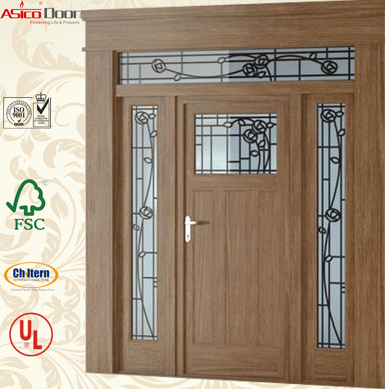 Solid Timber Double Main Entrance Door