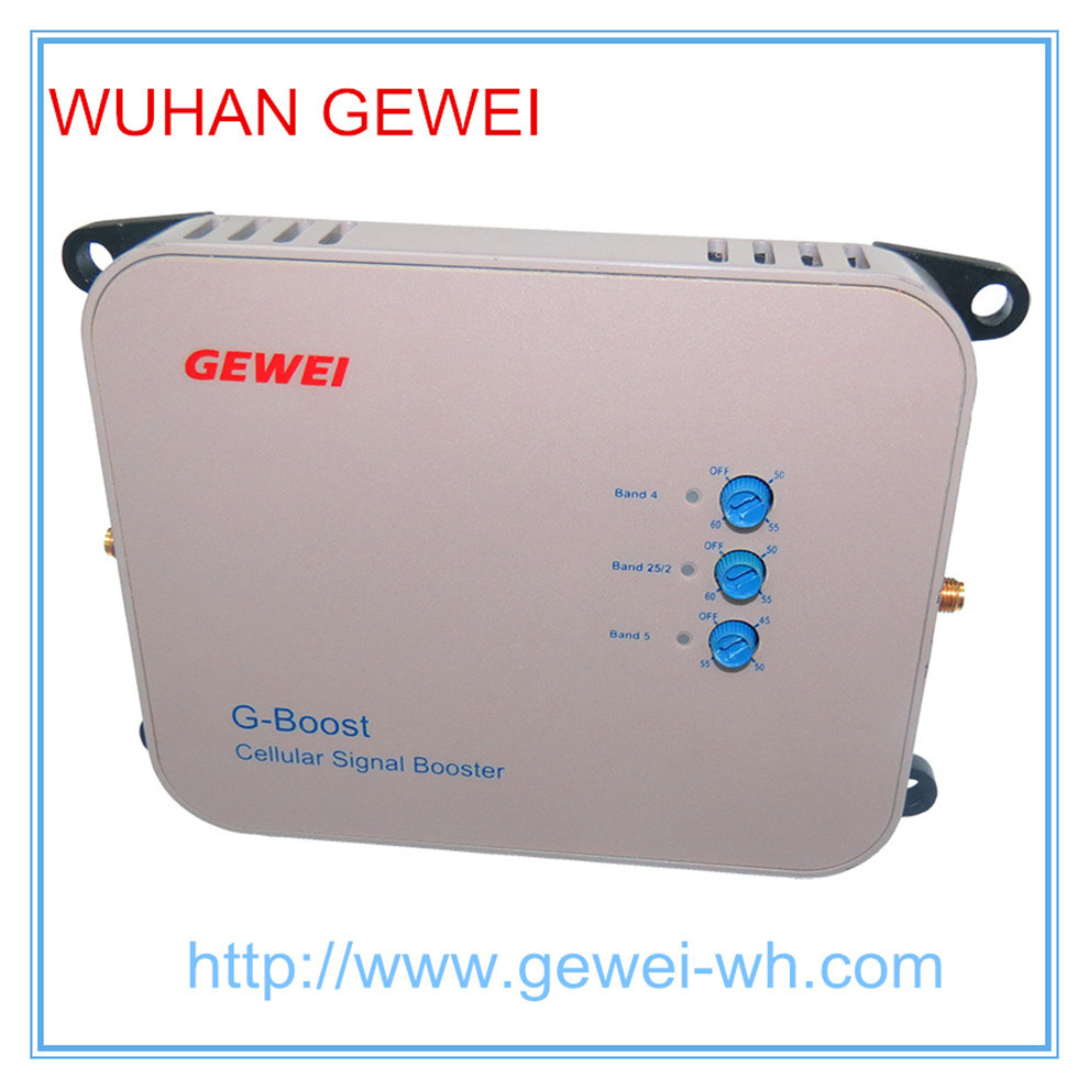 Gewei Wall-Plug Wireless Cellphone Signal Repeater Signal Booster for Home