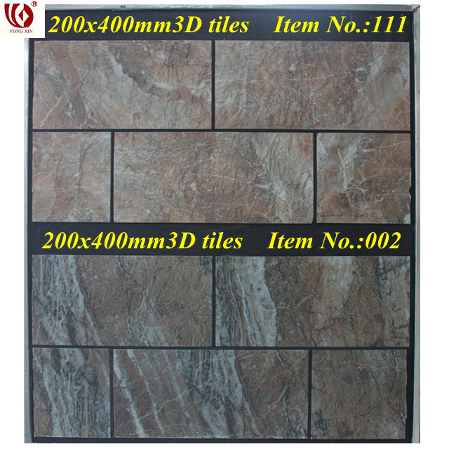 China 3d living room wall tiles 200x400mm china living for Living room 3d tiles