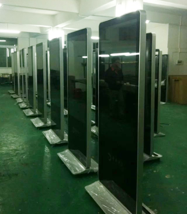Factory From 10.1 Inch to 84 Inch Floor Standing Advertising LED Display Digital Signage