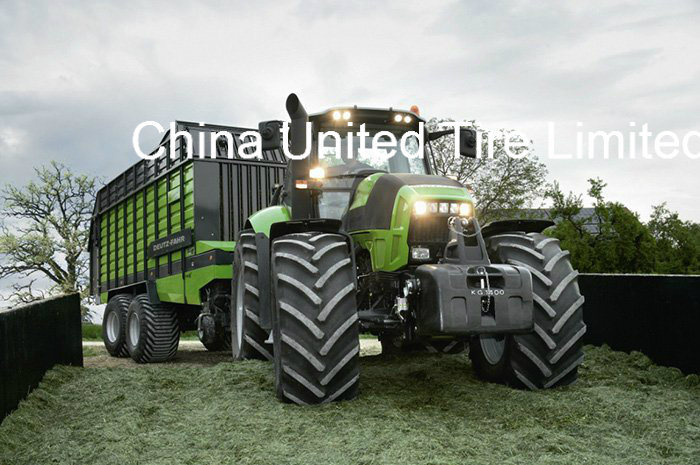 Good Traction 19.5L-24 18.4-30 28L-26 Harvester Tyre for Farm Field