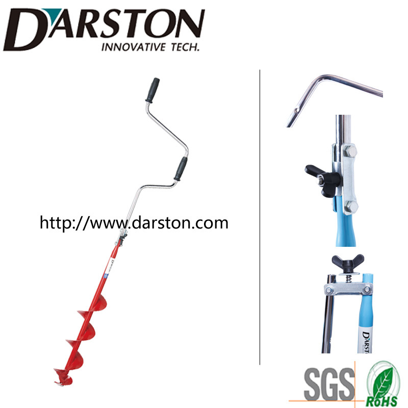 Hand Ice Auger Drill with U-Connection