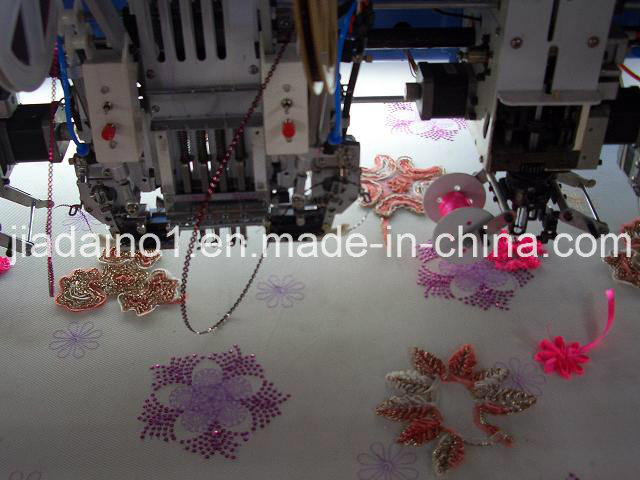 Mix Croding Machine and Sequin Embroidery Machine