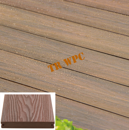 Anti-UV WPC Co-Extrusion Decking