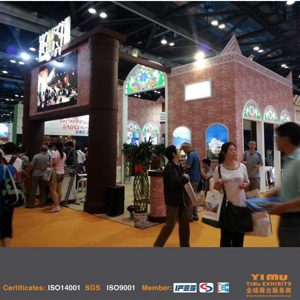 China Booth Construction Beijing Tourism Expo