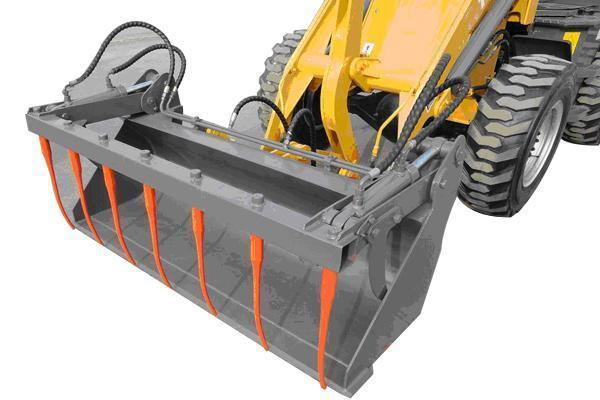 800kg CE Approved Mini Wheel Loader