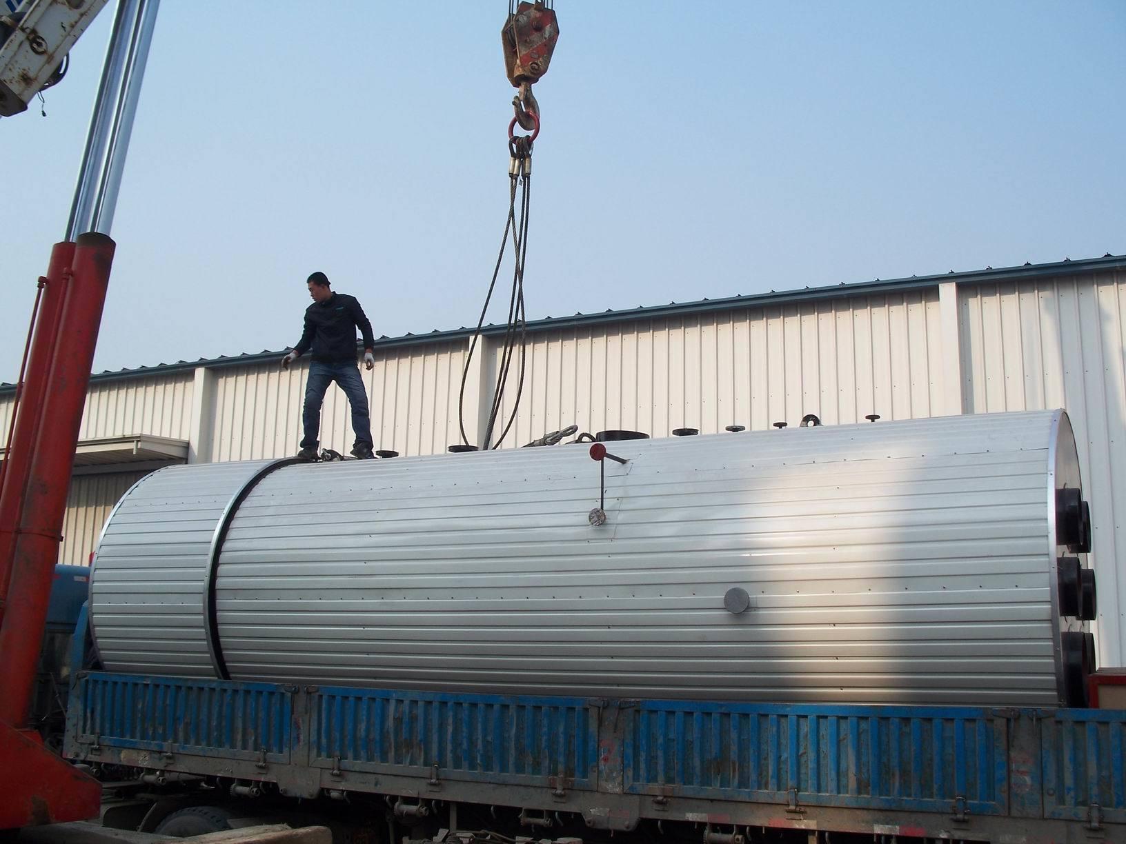HRSG heat recovery steam boiler Qingdao Xingfu Boiler Thermal