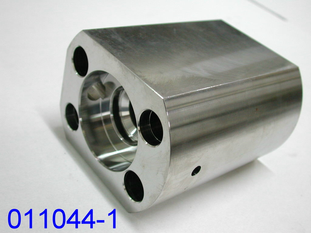 High Pressure Direct Drive Pump Part End Cap for Water Jet Cutting Machine