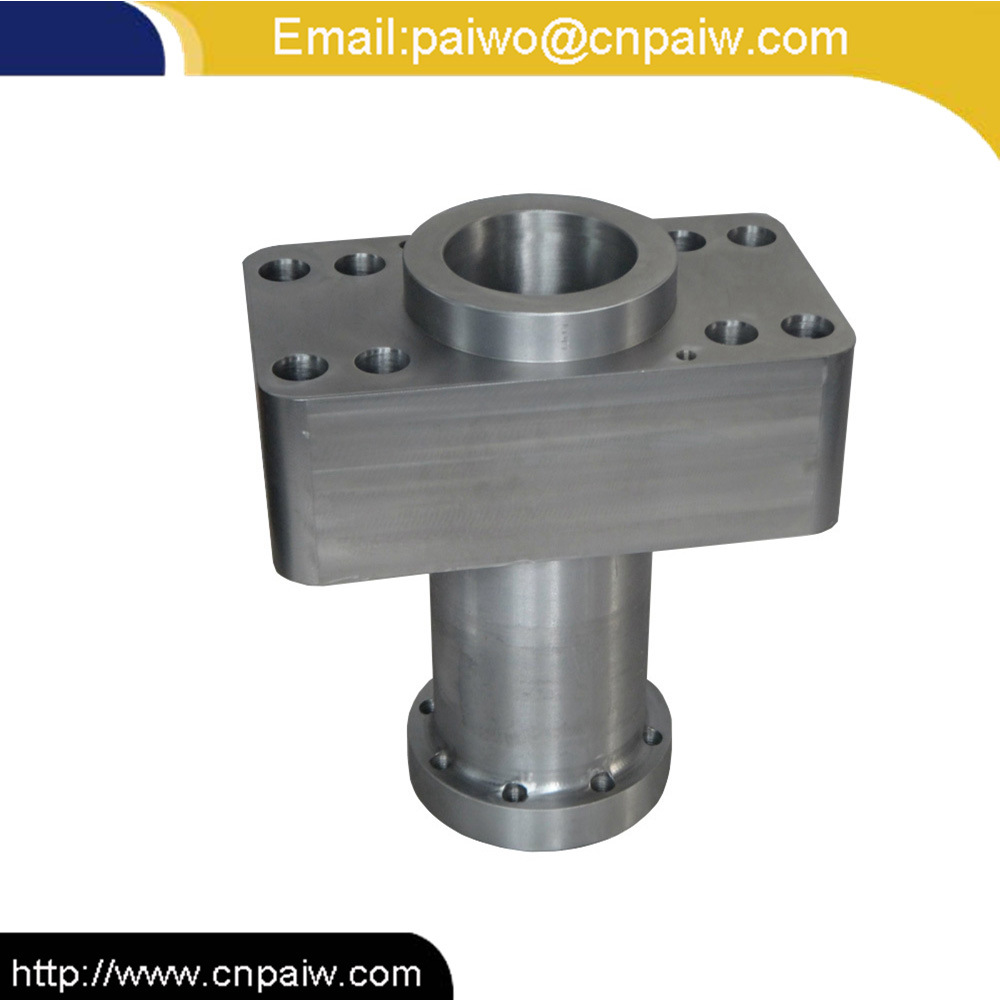 Carbon Steel Material CNC Machining Hydraulic Cylinder Spare Part Hydraulic Block
