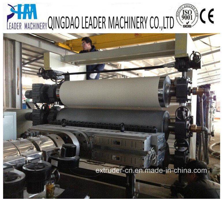 PVC Plastic Sheet/Plate Extruder Machine Extrusion Production Line