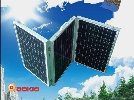 Folded Solar Panel 120W (40W in each side)
