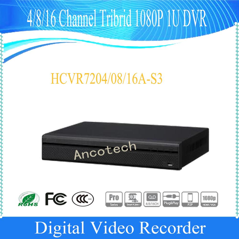 Dahua 8 Channel Tribrid 1080P 1u Security DVR (HCVR7208A-S3)