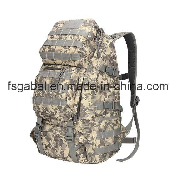 50L Camouflage Army Assault Tactical Gear Outdoor Military Rucksack Backpack