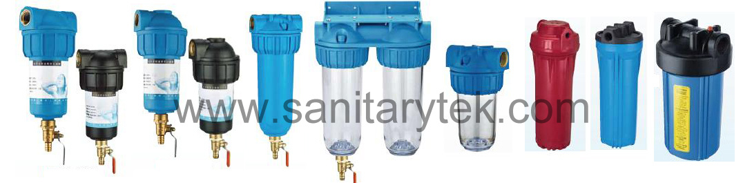 Professional Manufacturer of Water Filter Housing (RWF-8302)