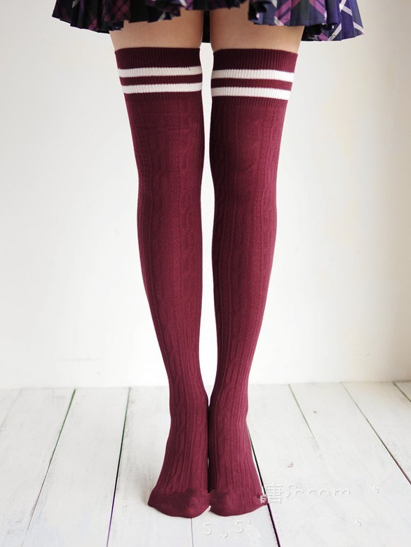 Lovely Girl Long Style Over Knee High Socks