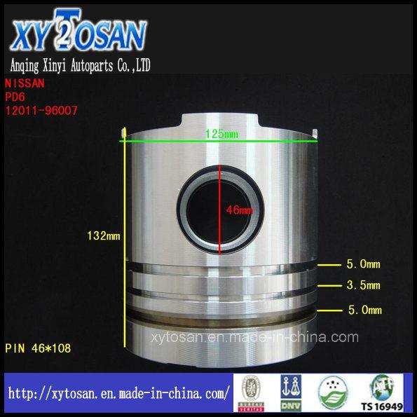 Auto Car Piston for Nissan Pd6 Engine OEM 12011-96007 Piston Set