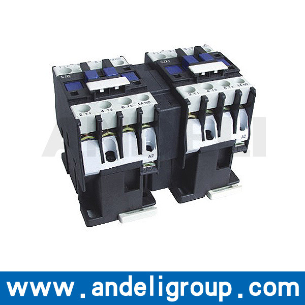25 AMP 1000V 4 Poles Mechanical Interlocking Contactor (CJX2-N)