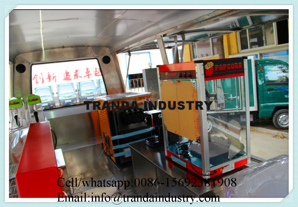 China New design Electric High Quality Food Cart Bus