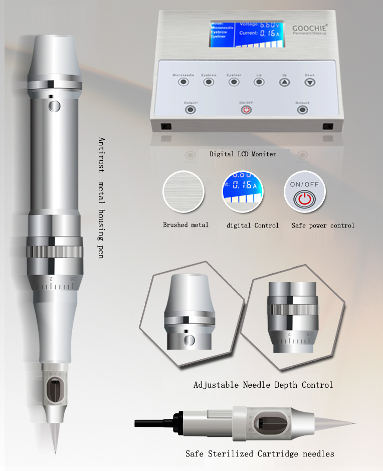 Digital Cosmetic Smei Permanent Makeup Machine